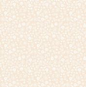 Makower Essentials - P3 1911 - White on-Nude Ditzy Floral